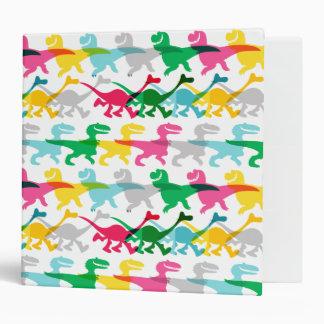 Dino Color Pattern Binder
