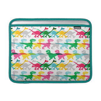 Dino Color Pattern MacBook Air Sleeve