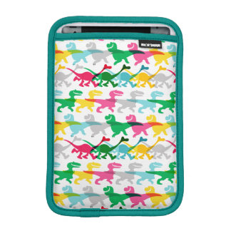 Dino Color Pattern Sleeve For iPad Mini