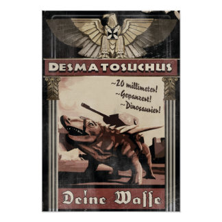 Dino D-Day: Desmatosuchus Posters