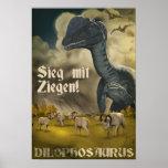 Dino D-Day: Dilophosaurus Poster