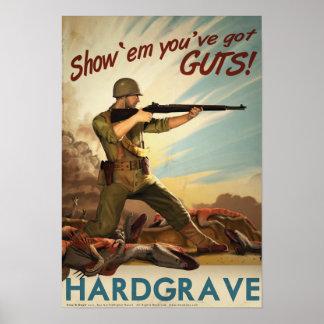 Dino D-Day Hardgrave Print