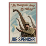 Dino D-Day: Joe Spencer Poster