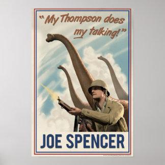 Dino D-Day: Joe Spencer Poster