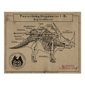 Dino D-Day: Styracosaur Poster