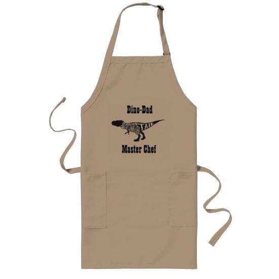 Dino-Dad, Master Chef, Customizable Apron