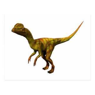 Dino DIN dinosaur dinosaur dinosaur Dilophosaurus Postcard