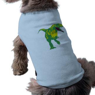 Dino dinosaurio Saurier dinosaur t Rex Playera Sin Mangas Para Perro