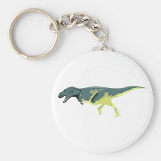 Dino Dinsaurier Saurier dinosaur Albertosaurus Llavero Redondo Tipo Pin