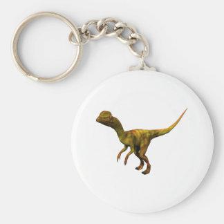 Dino Dinsaurier Saurier dinosaur Dilophosaurus Llavero Redondo Tipo Pin