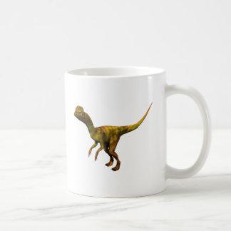 Dino Dinsaurier Saurier dinosaur Dilophosaurus Taza Básica Blanca