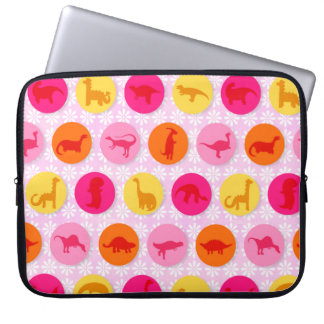Dino Dots Laptop Sleeve