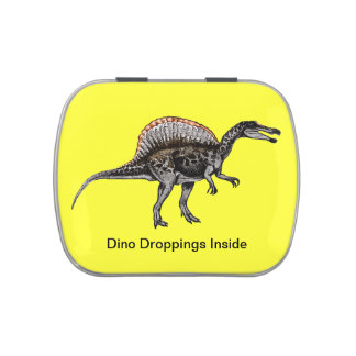 Dino Droppings Jelly Belly Candy Tin