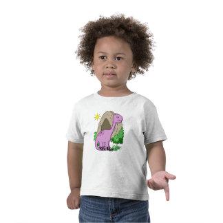 Dino el niño lindo del dinosaurio camisetas