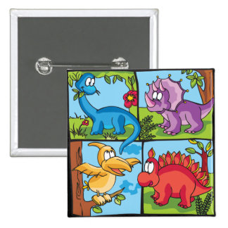 Dino Friends Pin