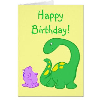Dino Friends Greeting Card