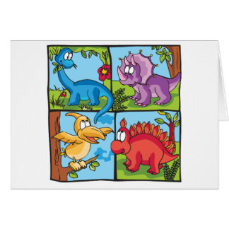 Dino Friends Cards