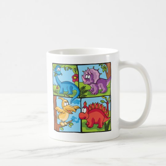 Dino Friends Coffee Mug