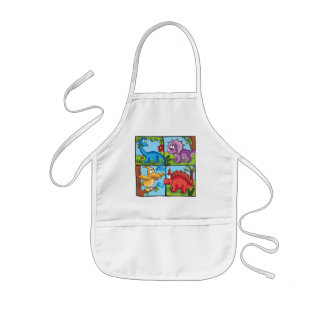 Dino Friends Kids' Apron