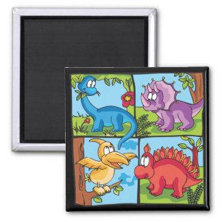 Dino Friends Magnet