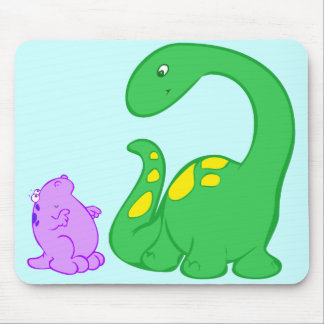 Dino Friends Mouse Pad