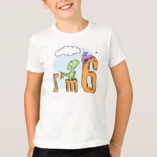 Dino Fun 6th Birthday T-Shirt