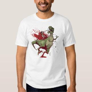 Dino Girl Reverse Tshirt