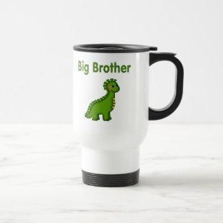 Dino hermano mayor taza de viaje de acero inoxidable