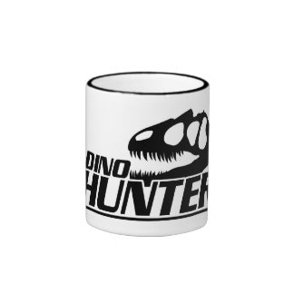 DINO HUNTER RINGER MUG
