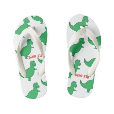 Beach Themed DINO KID™ Flip Flops, Kids Kid's Flip Flops