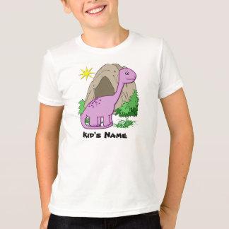 Dino la camiseta del niño lindo del dinosaurio