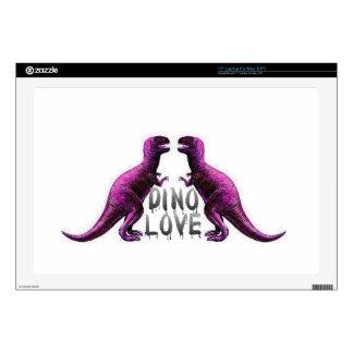 """Dino Love 17"""" Laptop Skins"""
