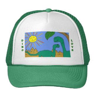 DINO LOVE - I LOVE DINOSAURS Hat