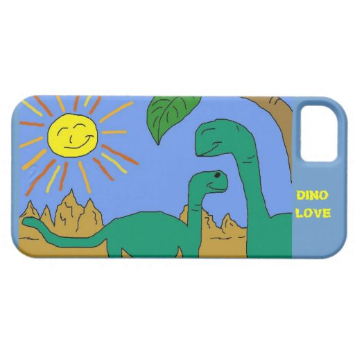 DINO LOVE - I LOVE DINOSAURS iPhone 5/5S Case