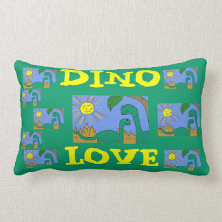 DINO LOVE - I LOVE DINOSAURS Pillows