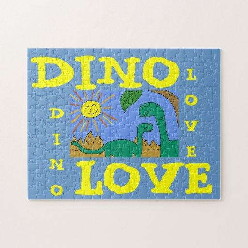 DINO LOVE - I LOVE DINOSAURS Puzzle