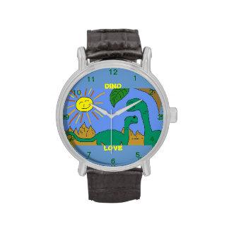 DINO LOVE - I LOVE DINOSAURS Watch