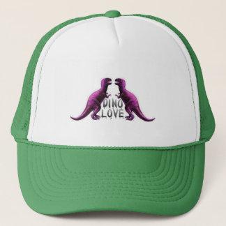 Dino Love Trucker Hat