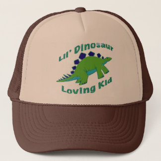 Dino Loving Kid Trucker Hat