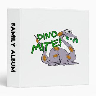 Dino Mite Vinyl Binder