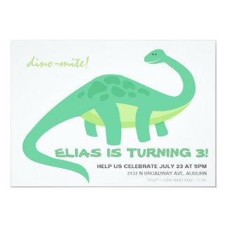 Dino-Mite Birthday Invite