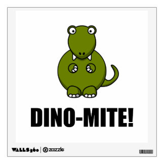 Dino Mite Dinosaur Room Graphics