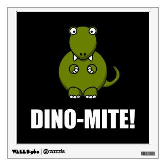 Dino Mite Dinosaur Wall Sticker
