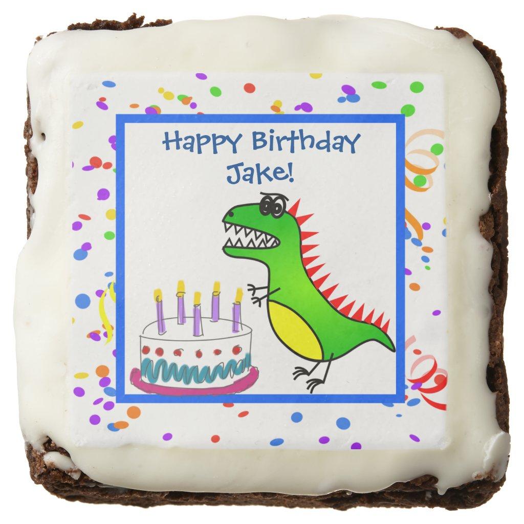 Dino-Mite Time Dinosaur and Cake Birthday Party