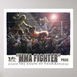 Dino MMA Battle Dawn of Pankration Poster