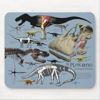 Dino Mousepad Tapetes De Ratón