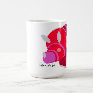dino mug triceratops
