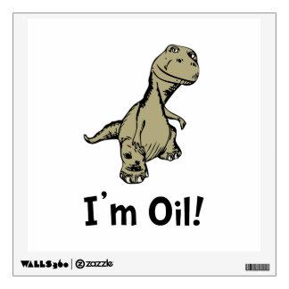 Dino Oil Room Stickers