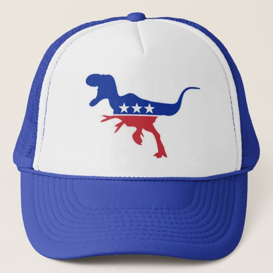Dino Party Logo Trucker Hat