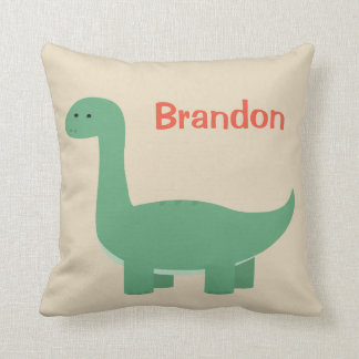 Dino Personalized Pillow